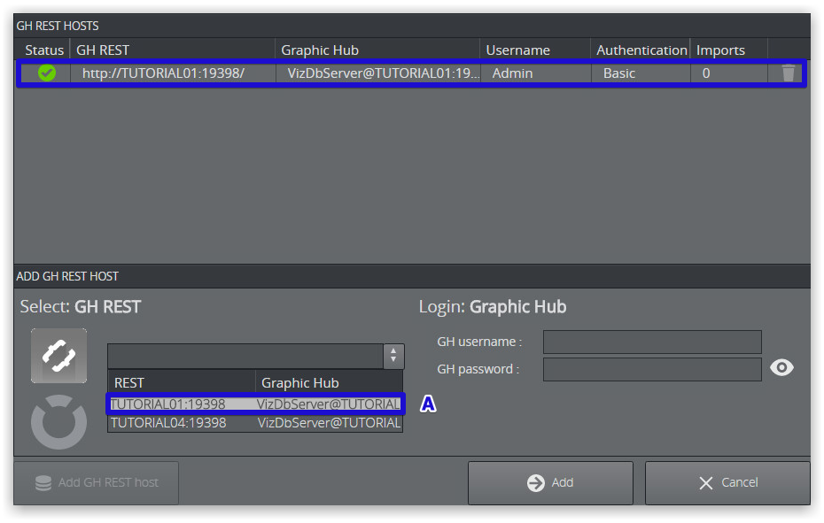 Manage imports - Graphic Hub