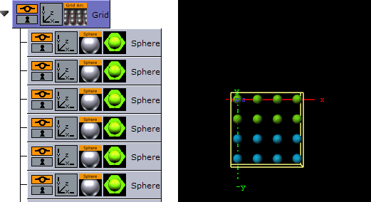 Grid Arrange - Viz Artist User's Guide - Vizrt Documentation Center