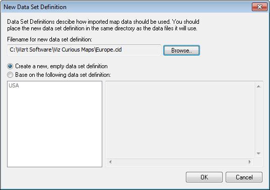 Setting up ESRI Shape File data - Viz World Classic User's Guide