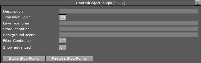 Control Object - Viz Artist and Engine