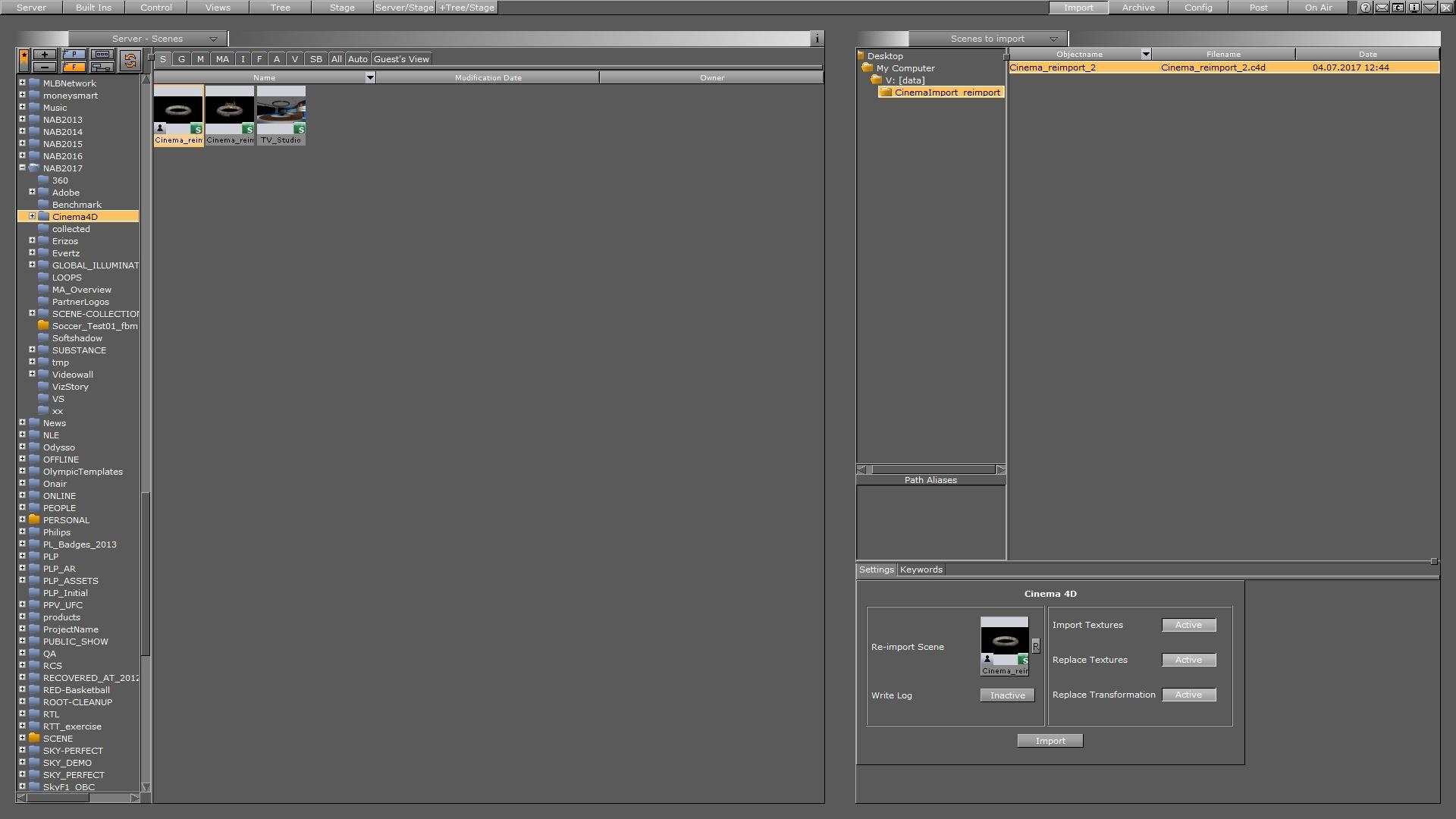 CINEMA 4D - Viz Artist and Engine