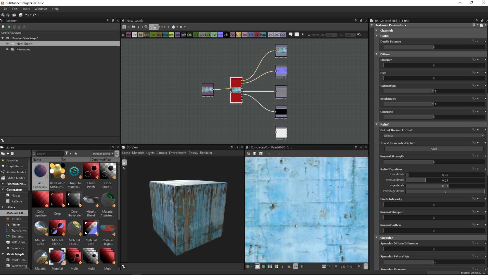Substance Editor - Viz Artist and Engine