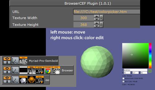 BrowserCEF - Viz Artist and Engine