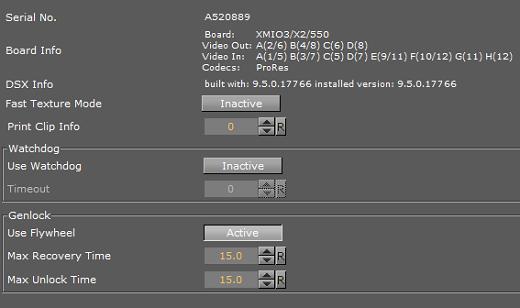 Matrox X mio3 - Viz Artist and Engine