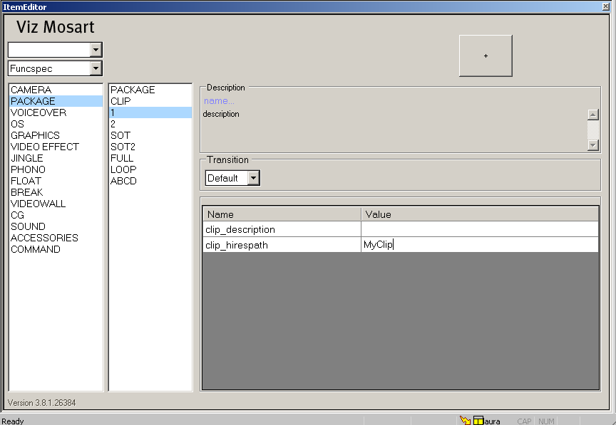 Setting up the Registry for Viz Mosart ActiveX - Viz Mosart