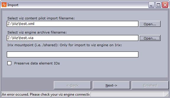 import into director viz pilot user s guide vizrt documentation rh docs vizrt com Kindle Fire User Guide Kindle Fire User Guide
