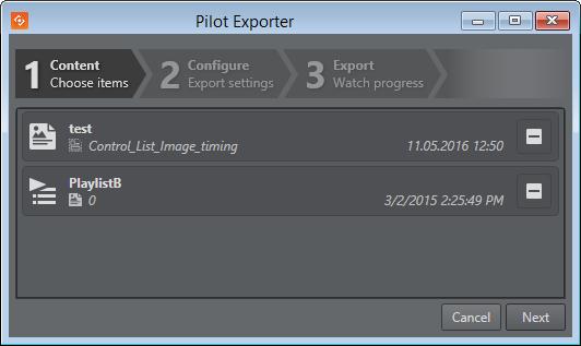 export and import in director viz pilot rh docs vizrt com Clip Art User Guide Online User Guide