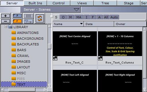 Creating Text Objects - Viz Trio User's Guide - Vizrt Documentation