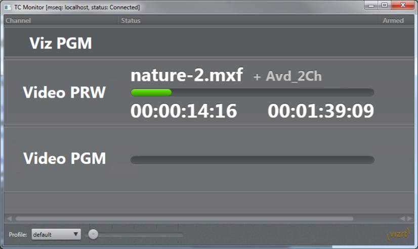 TimeCode Monitor - Viz Trio