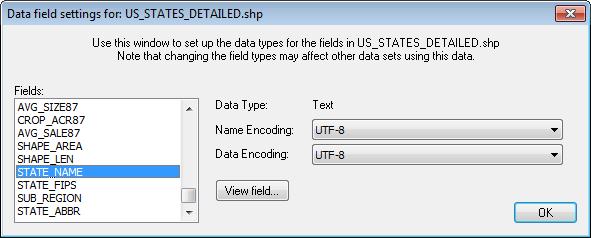 Setting up ESRI Shape File data - Viz World