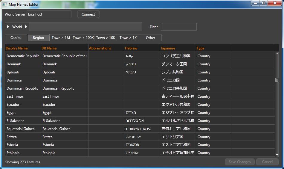 Map name editor viz world users guide vizrt documentation center map name editor gumiabroncs Image collections
